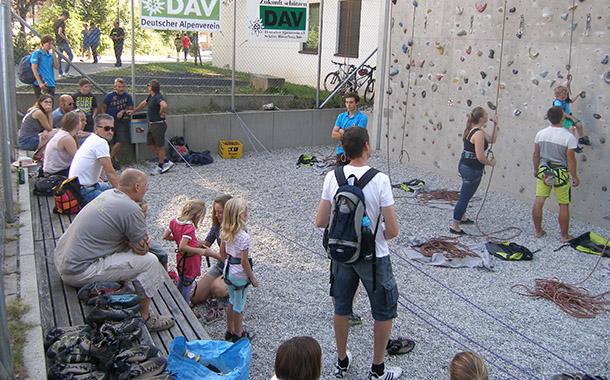 Klettern DAV Wasserburg