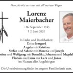 Lorenz-Maierbacher-Traueranzeige