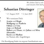 Sebastian-Dörringer-Traueranzeige