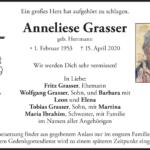 Anneliese-Grasser-Traueranzeige