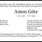 Anton-Götz-Traueranzeige